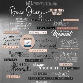 nbk-DEAR-DIARY-WA-french