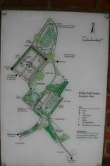 Bridge End Garden layout