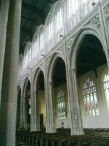 Wonderful, tall stonework to the Nave and Aisles