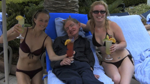 Stephen Hawking a t il attrapé la grosse tête?