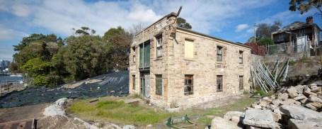 Fenwicks Stone Building Pano 4