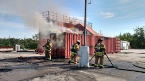 Joint Live Burn Drill With Jamesburg