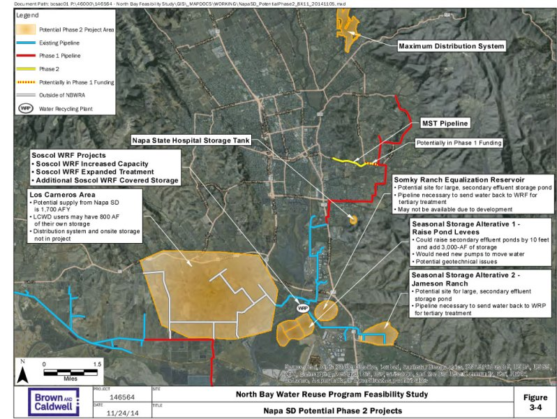 Project Area Maps   North Bay Water Reuse Program Phase 2 Maps 3 4