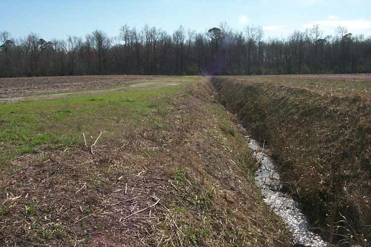 Usgs North Carolina Wsc Projects Artificial Drainage