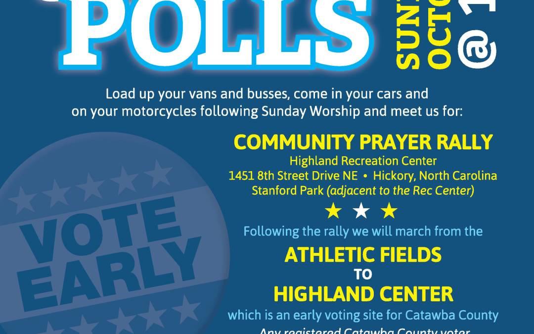 Catawba County: Souls 2 the Polls