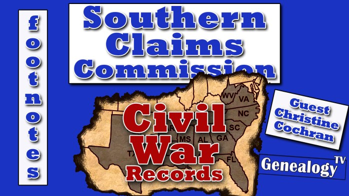Civil War Records: Southern Claims Commission