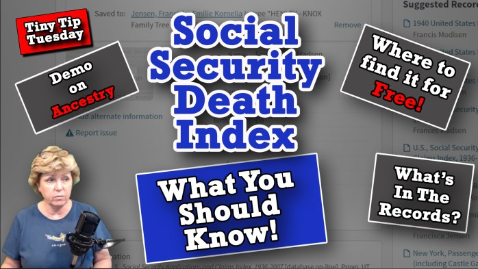 How to Research the Social Security Death Index Online
