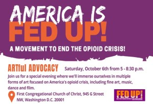 FED UP! ARTful Advocacy @ 1st Congregational Church of Christ | Washington | District of Columbia | United States
