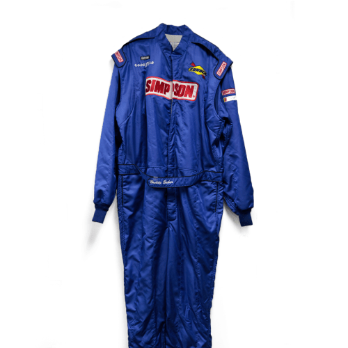 Buddy Baker Simpson Used Racing Suit
