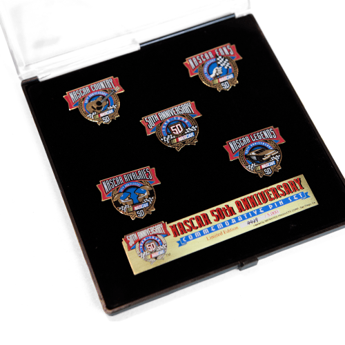 Nascar 50th Anniversary Pins