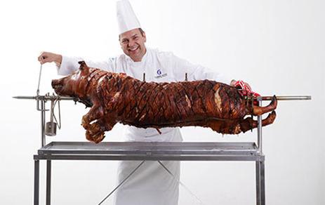 BBQ or hog roast business