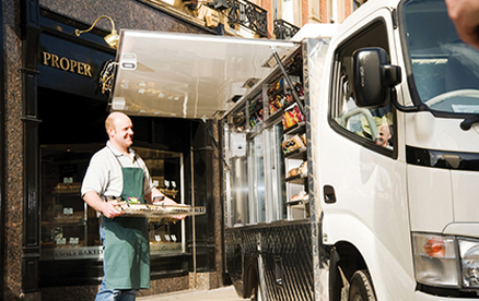 Insuring your Sandwich Van