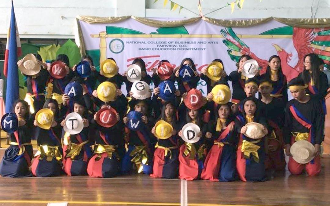 Junior High School Celebrates Buwan ng Wika