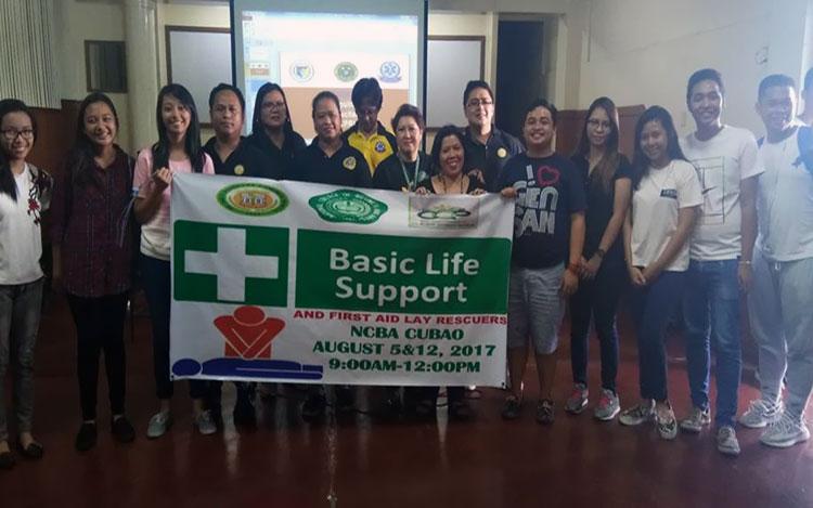 NCBA Cubao HS Basic Life Support Seminar