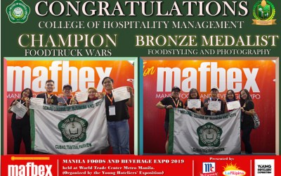 MANILA FOOD AND BEVERAGE EXPOSITION: NCBA WON GOLD AND BRONZE
