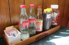 Carolina Bar-B-Q condiments