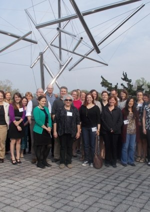 """Participants, instructors, and organizers in the first offering of """"A Librarian's Guide to NCBI"""" outside the National Library of Medicine."""