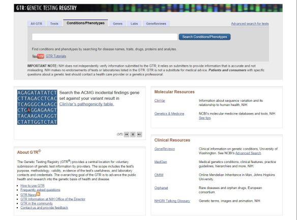 gtr homepage