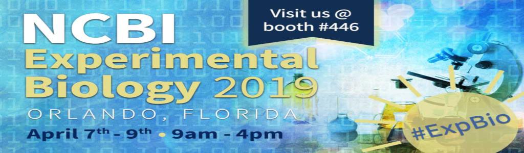 NCBI at Experimental Biology next week (Apr 6-9) in Orlando
