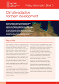 Policy Information Brief 3: Climate adapted northern development