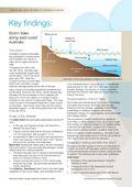Key Findings: Storm Tides along East-Coast Australia