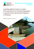 Leading gifted horses to water: The economics of climate adaptation in government-sponsored irrigation in Victoria