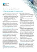 Living with Climate Change: Climate Change Impacts and Adaptation Factsheets for Australia: Settlements and Infrastructure