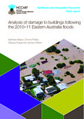 Analysis of damage to buildings following the 2010-11 Eastern Australia floods