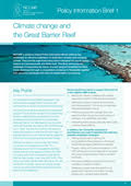 Policy Information Brief 1: Climate change and the Great Barrier Reef