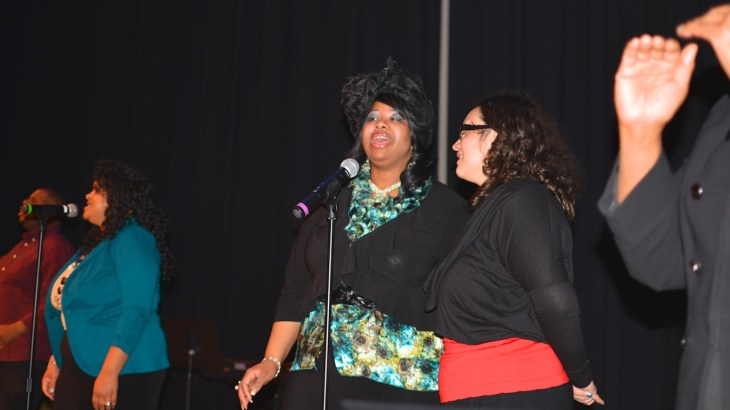 """Gospel group Unity One performs a soulful rendition of """"He Knows My Name"""""""