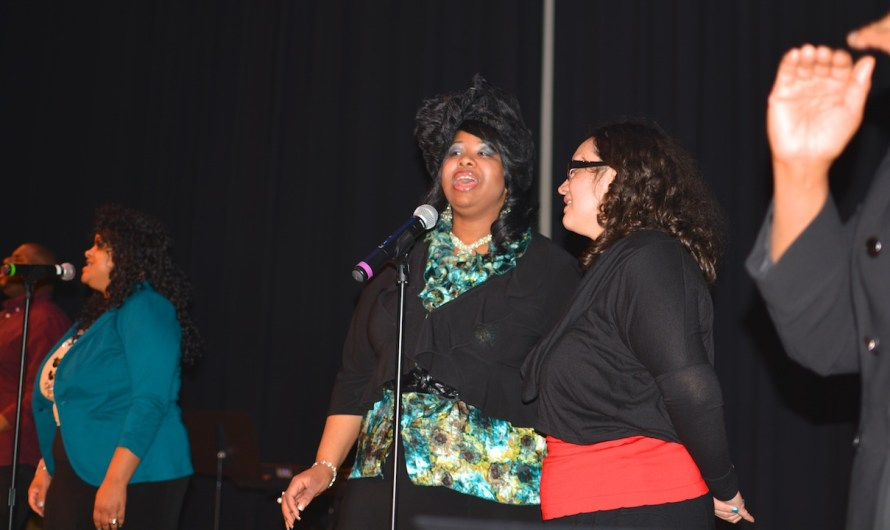 Message of faith, determination defines NCC's Black History Month