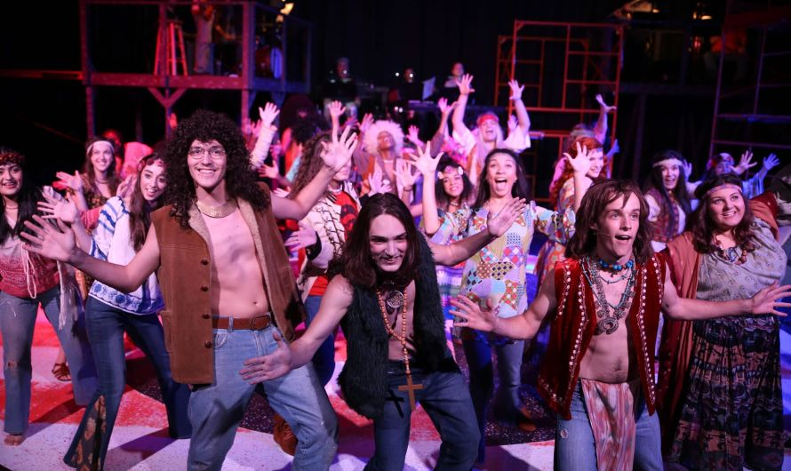 "A Blast from the past: ""Hair"" sprays on stage"
