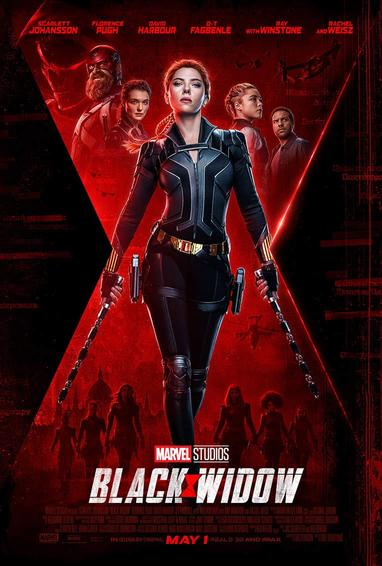 Official Black Widow release poster by Marvel