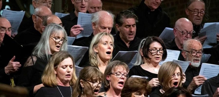 North Camden Chorus singing at St Mary Brookfield Church