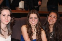 Jenny, Danica and Brooklyn lined up for 12 hours to get their prime seats for #Noscars2013.