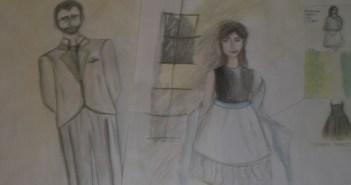 Costume Design Sketch