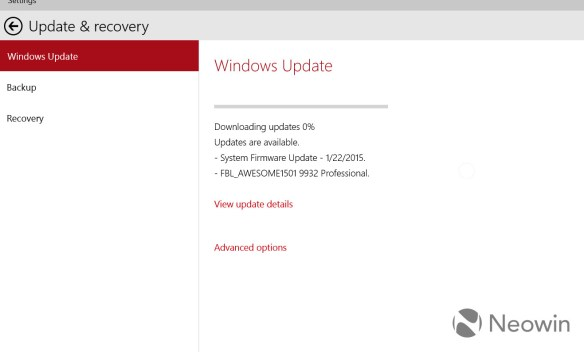 After installing patch KB3035129, Windows 10 is trying to