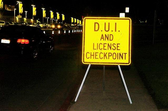 DUI/Drivers License Checkpoint Planned this Weekend by Escondido