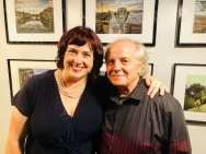 Kelly Moncure and her mentor Don Bartletti, Award Winner Journalist