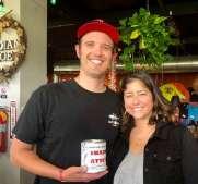 Dizzy Dog Brewing-Vista Fire #6, 'Shark Attack', Brewer Justin Hennen & Sar Escobedo
