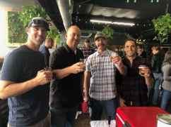 Cbad 3730 Brewing, Cbad Fire,' 6 Day Fiesta' Mexican Lager/'MBI' Mosaic Brut IPA, Brian Diamond, Bill Mullins-Brewmaster, Scott Sandland Fire, Josh Clark Fire
