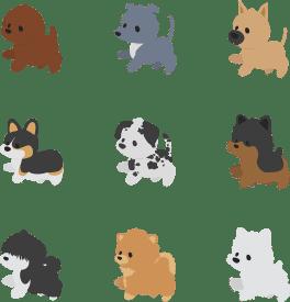 Chibi Pupper Stickers vol. 2