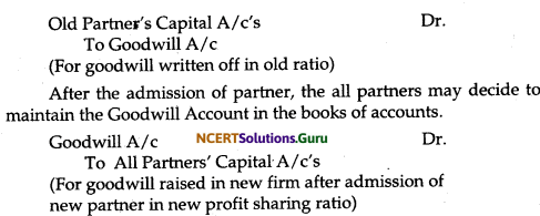 NCERT Solutions for Class 12 Accountancy Chapter 3 Reconstitution of Partnership Firm Admission of a Partner 37