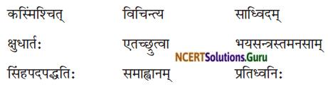 NCERT Solutions for Class 8 Sanskrit Chapter 2 बिलस्य वाणी न कदापि में श्रुता Q1