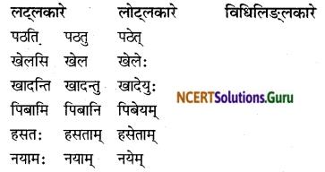 NCERT Solutions for Class 8 Sanskrit Chapter 4 सदैव पुरतो निधेहि चरणम् Q7.1
