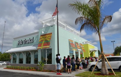 Miami-based Caribbean food  chain Pollo Tropical opens  first Sarasota restaurant