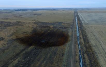 Keystone Pipeline leaks in South Dakota