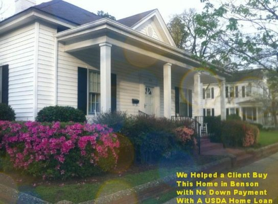 USDA Home Loans in Johnston County