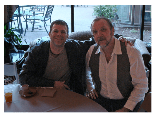 Marc Angelucci (left) and David Woods (rigtht)