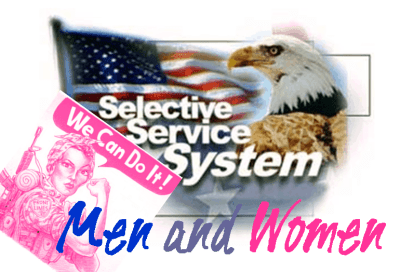 selective service men and women